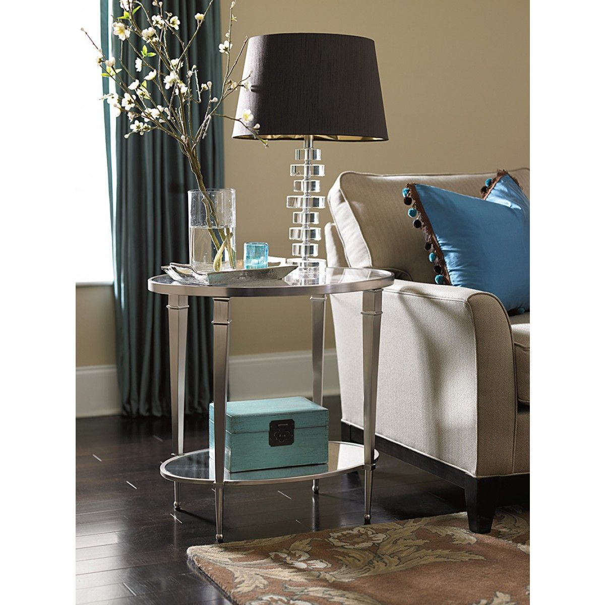 Hammary Mallory Oval End Table End Tables Table Sofa