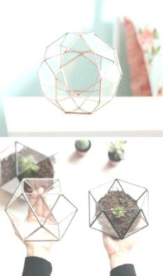 Handmade Geometric Terrariums by Waen -