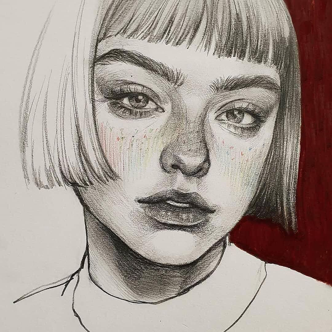 """@art__ness on Instagram: """"Art by: @zoohii 〰️ Tag your art lovers friends💙.. #artness  @art__ness _____________  #graphite #from #archive#women #female #realism…"""""""