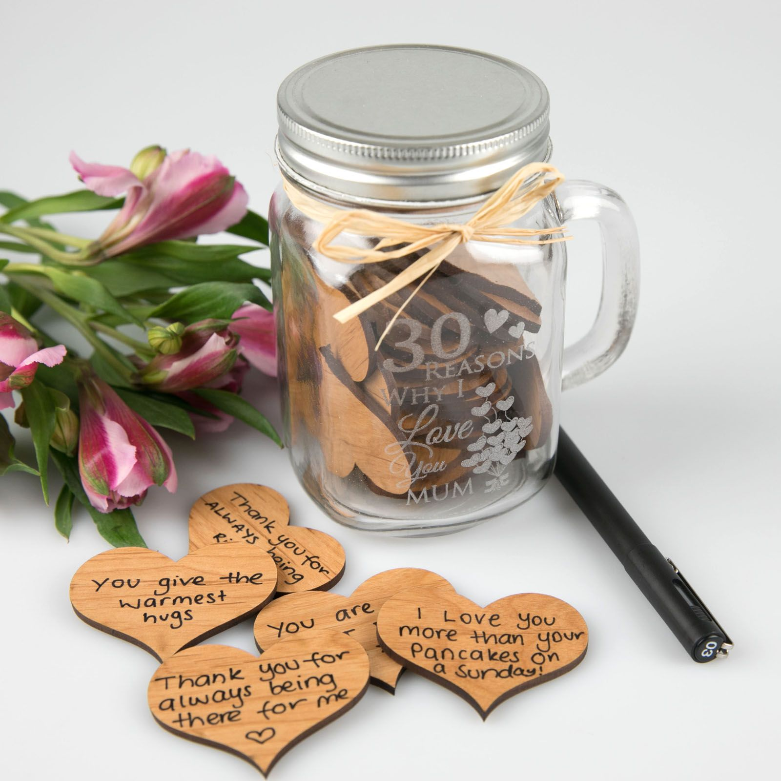 Give Mum A Jar Full Of 30 Reasons Why You Love Her And Watch Her