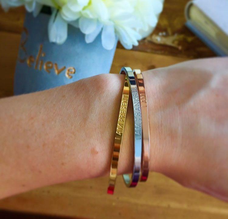 ef362ce7f9eb8 Mindfulness jewellery | I AM Affirmation Bracelets | Bracelets ...