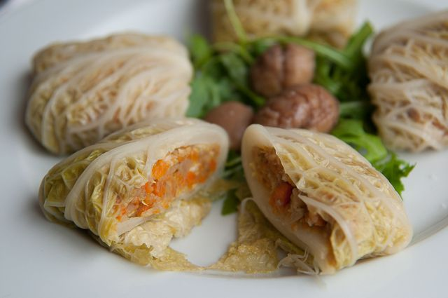 vegetarian stuffed cabbage with chesnut-11