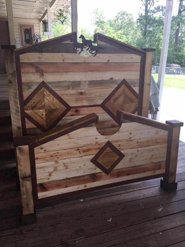 wooden-pallet-bed-headboard.jpg 620×827 pixels | Danni Dickinson ...