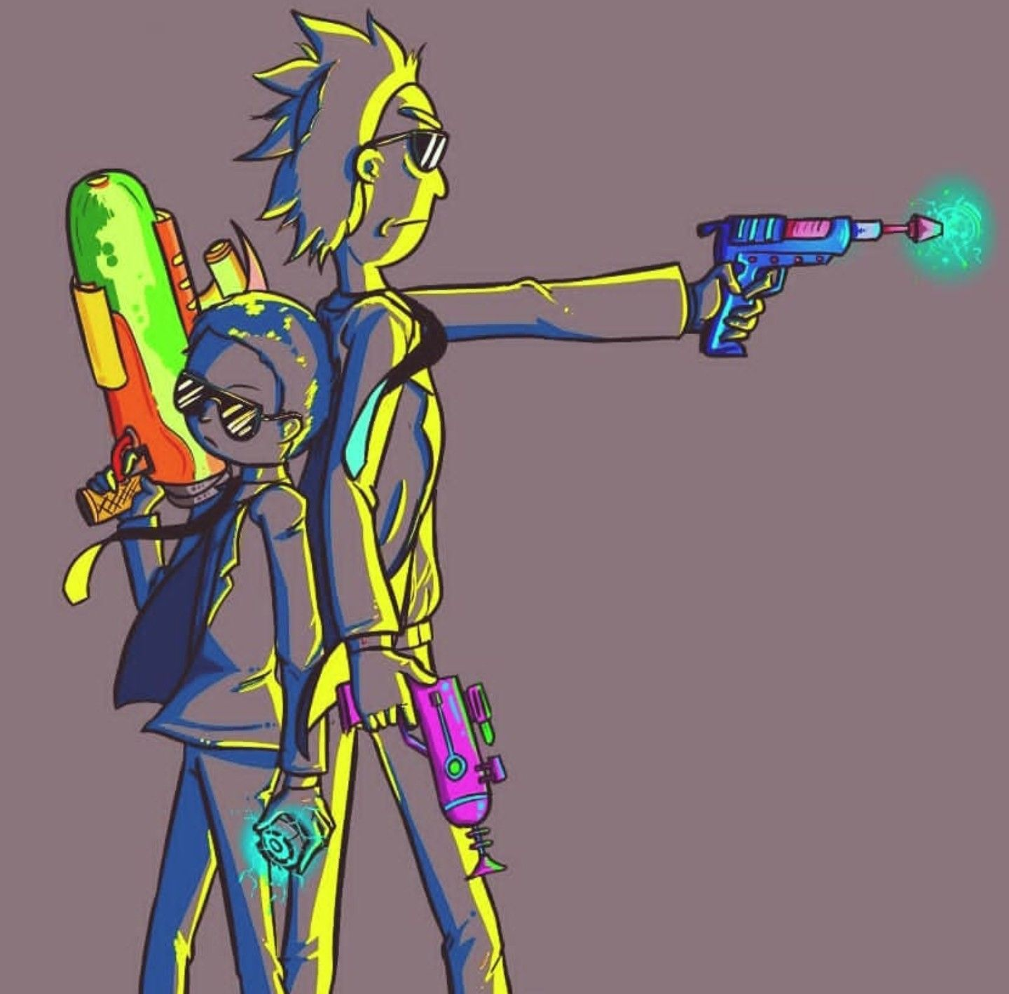 Rick And Morty X Run The Jewels Rick I Morty Rick And Morty Morty