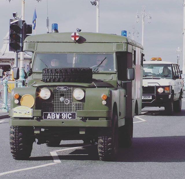Londontobrightonlandroverrun Series2 Military Rangeroverclassic