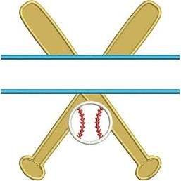 Baseball Bat Applique Design Google Search Digital Embroidery Applique Pattern Machine Embroidery