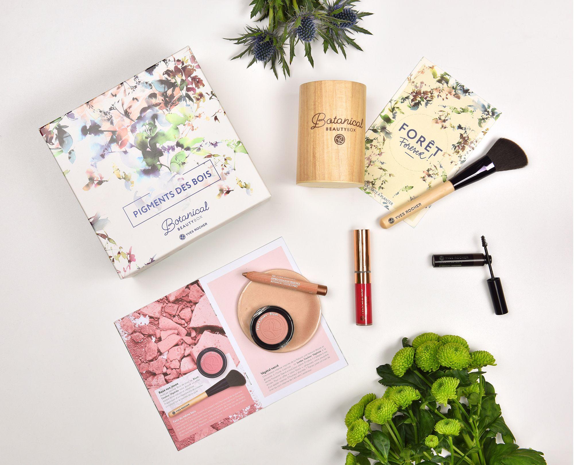Botanical Beautybox Novembre 2017 Pigments Des Bois Bellezza