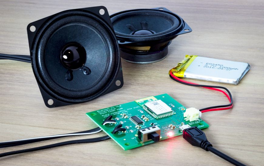 Kitronik Bluetooth Stereo Amplifier Kit | Stereo amplifier