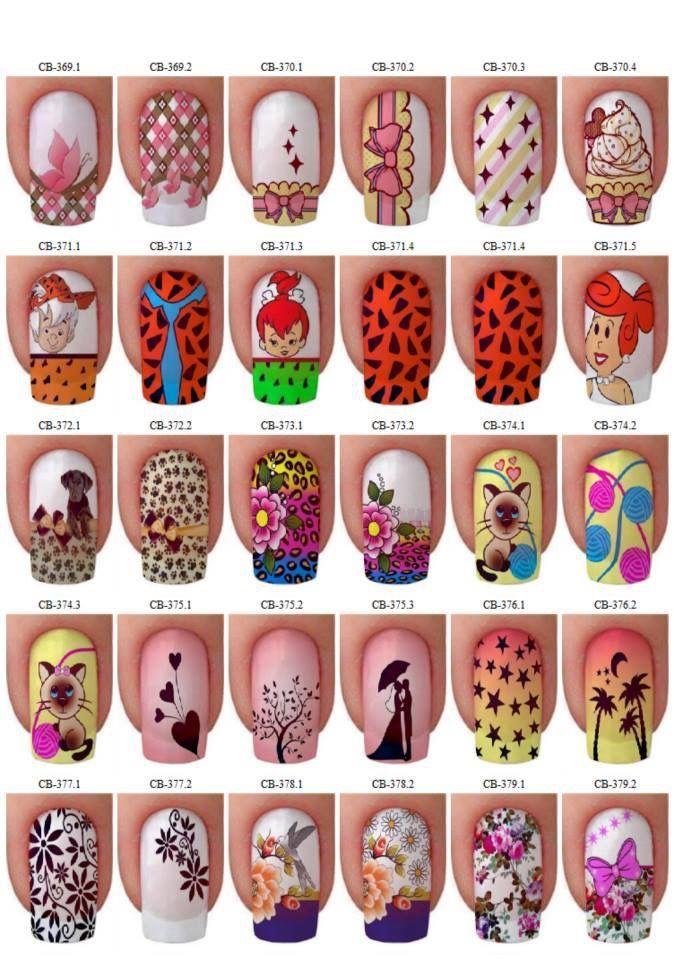 Pin de Emperatriz Soto en Arte de uñas | Pinterest | Diseños de uñas ...