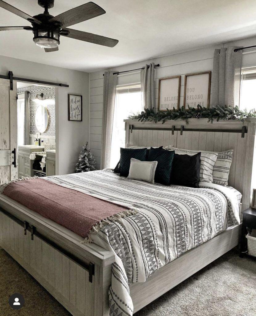 Master Bedroom Makeover in 2020 Master bedroom makeover