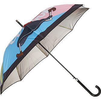 Multicoloured Block Umbrella