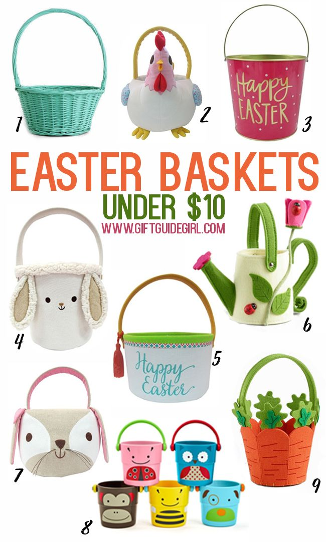 Inexpensive easter baskets cheap easter baskets for kids cute and inexpensive easter baskets perfect for big kids little kids boys and negle Images