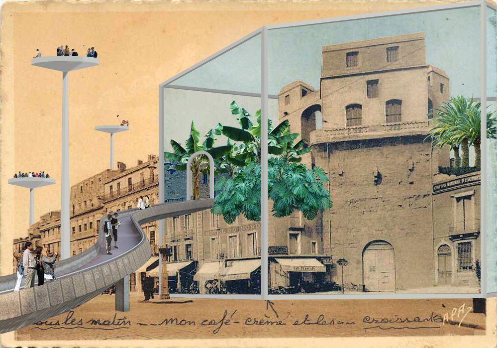 Place de l'Observatoire -Montpellier http://www.marginalstudio.com/