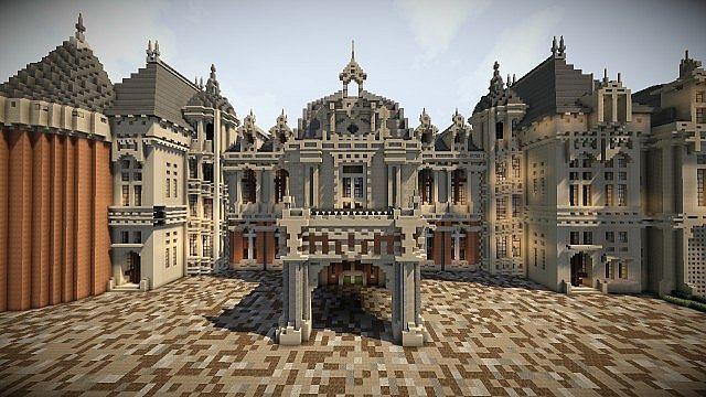 Waddesdon Manor Minecraft World Save