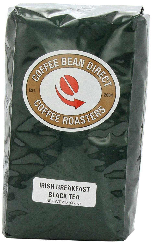 Coffee bean direct irish breakfast loose leaf tea 2 pound