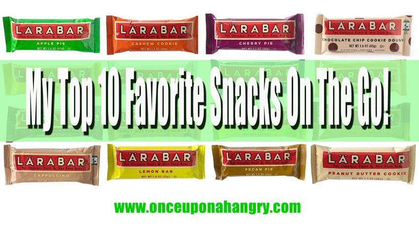 My Top 10 Favorite Healthy Snacks On The Go