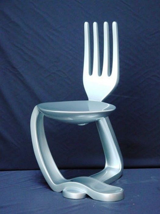 Hip, Avant Garde Chairs! The Spoon & Fork Chair. 50 Awesome Creative ...