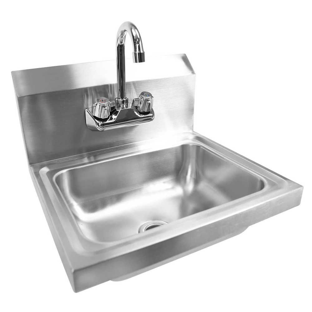 Details About Commercial Stainless Steel Hand Wash Washing Wall Mount Sink Kitchen Stainless Steel Faucets Wall Mounted Sink Stainless Steel Sinks