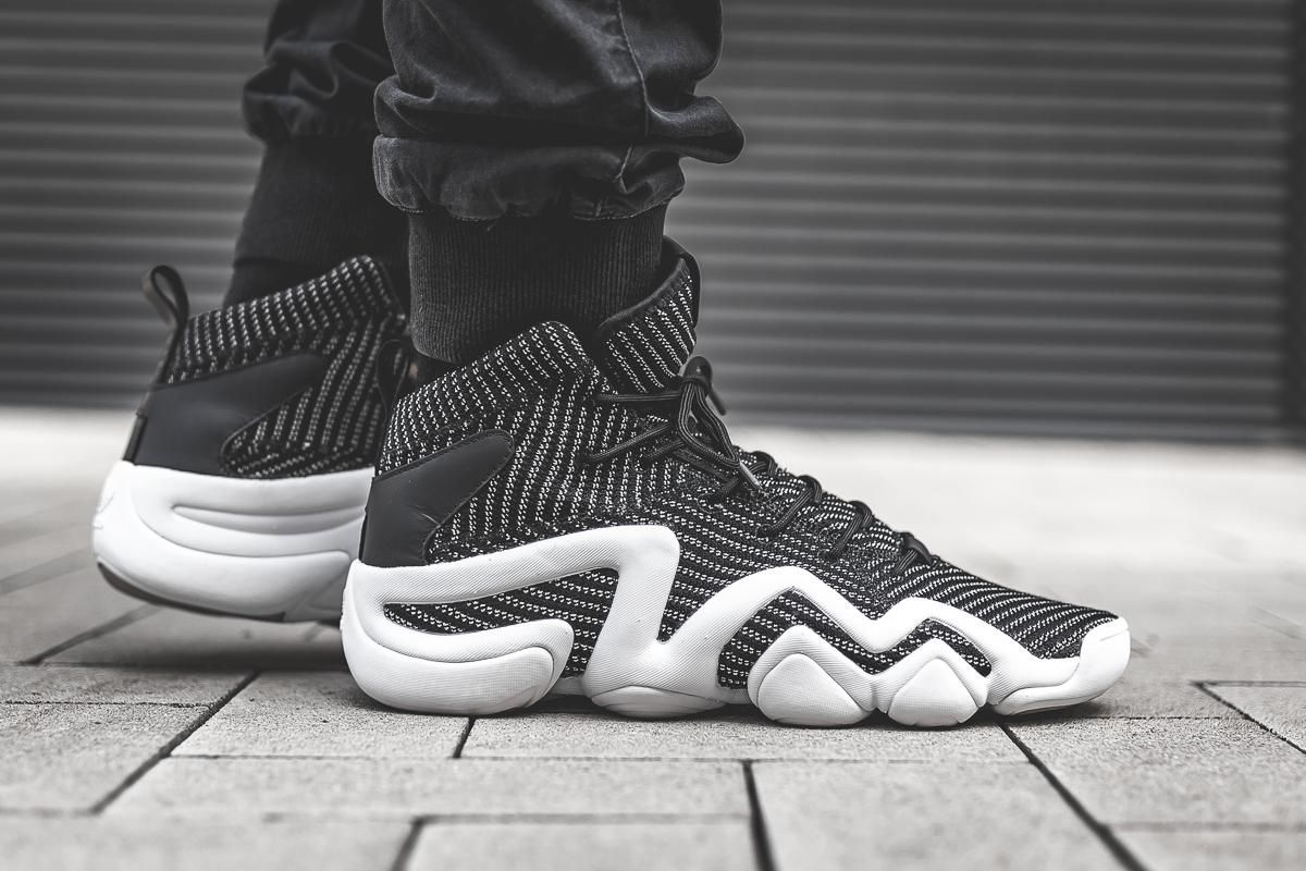 newest 6d8af fd1f6 On-Foot adidas Crazy 8 ADV Primeknit BlackWhite - EU Kicks Sneaker  Magazine