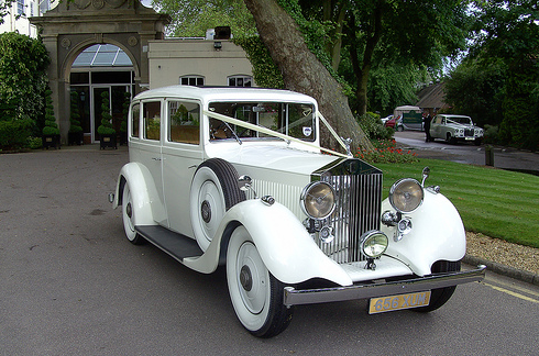you can rent a limo for any occasion, i want something like a vintage rolls royce phantom for me and my husband after our ceremony :)