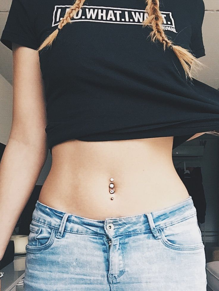 Bikini piercings