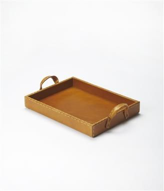 Mdf Leather Pvc Serving Tray