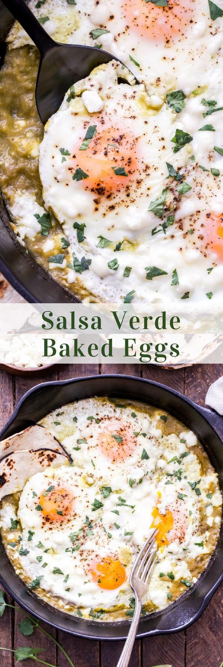 Photo of Salsa Verde Baked Eggs – Recipe Runner