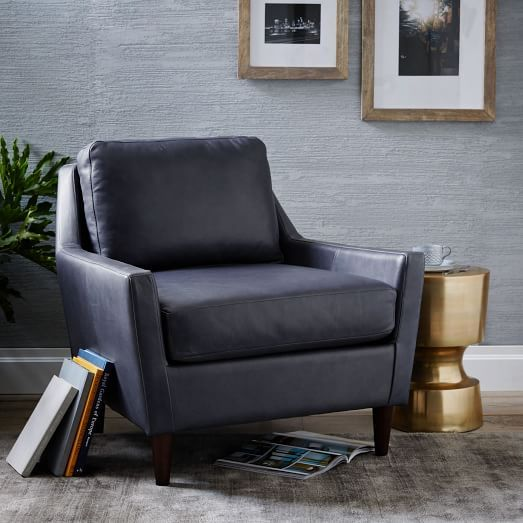 west elm everett chair wedding covers halifax leather work space pinterest flats