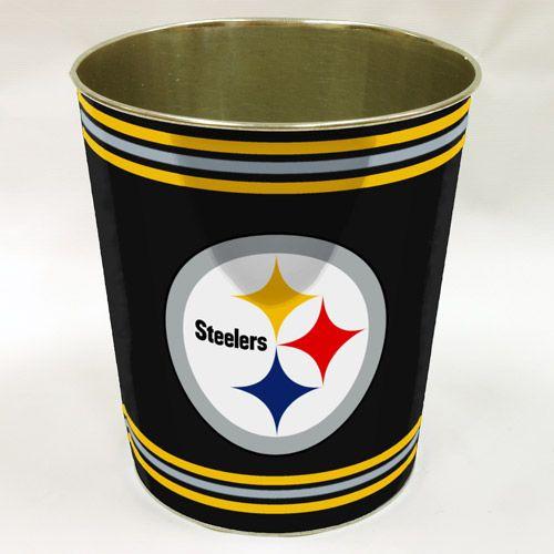 NFL Pittsburgh Steelers Wastebasket