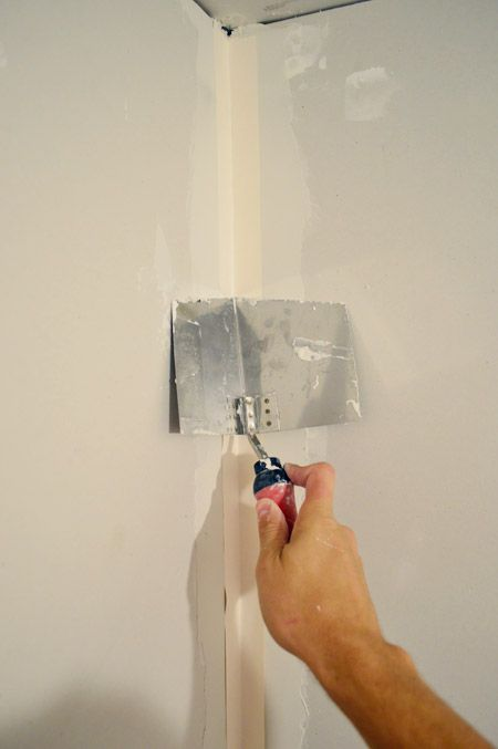 How To Tape Mud And Sand Drywall Young House Love Drywall Installation Drywall Drywall Tape