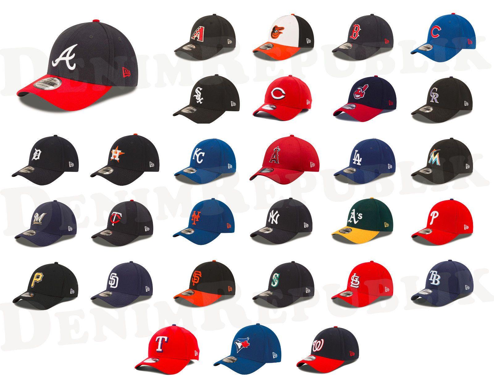 New Era 3930 Mlb Cap All Teams Baseball Stretch Fit Team Classic Adjustable Hat Fit Team All Team Adjustable Hat