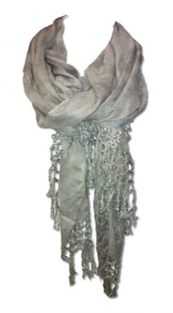 Silver Marble Fringe Scarf.. Got this in the mail today, So soft and cute for fall!
