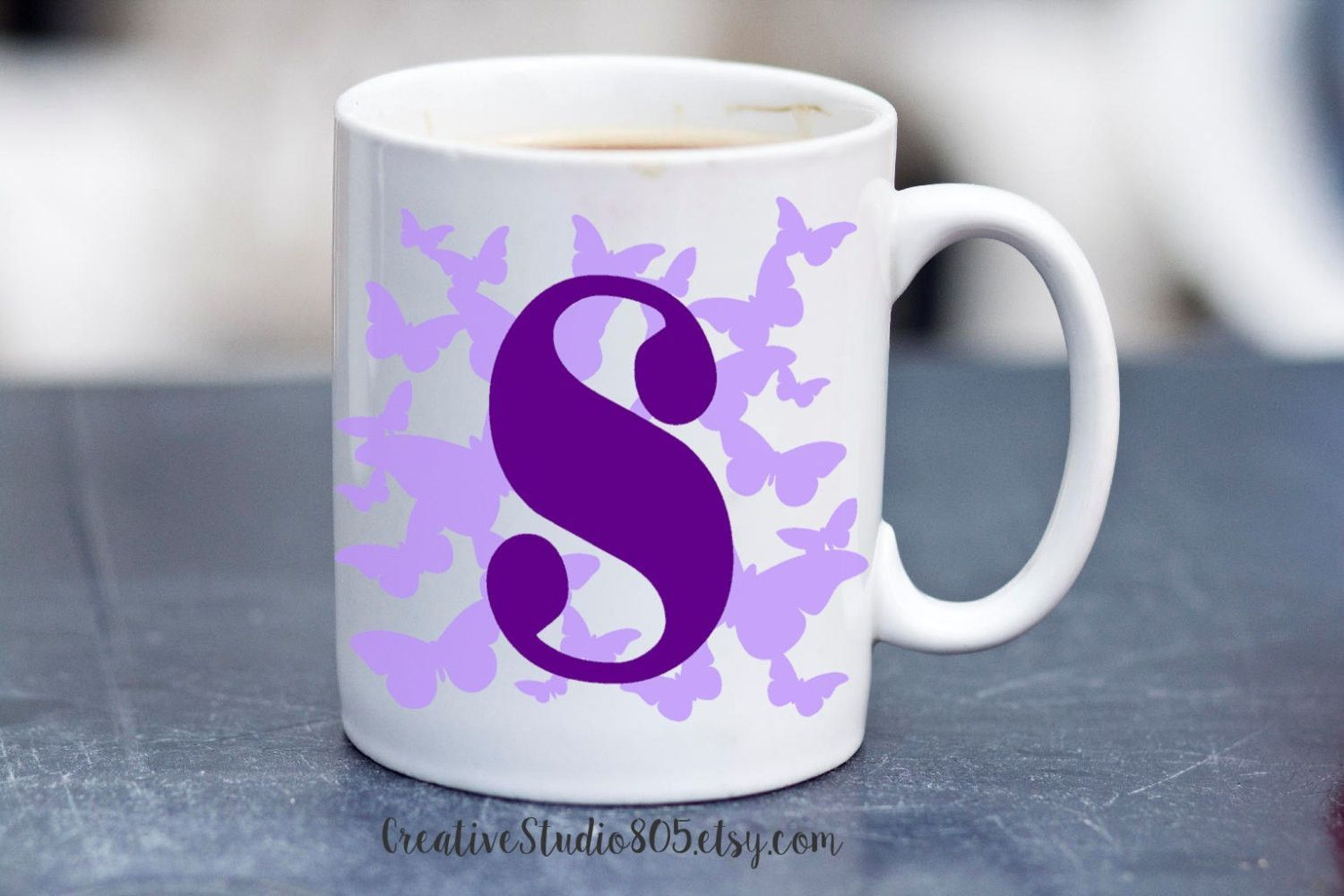 Each One Is Slightly Diffe To Add The Uniqueness Of Gl Monogram Coffee Mug Personalized