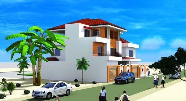 Projet D Extension D Une Villa A Dakar Au Senegal Architecture