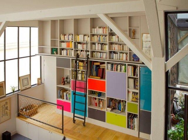 des rangements dans tous les recoins ai bibli pinterest tag res ouvertes porte de et. Black Bedroom Furniture Sets. Home Design Ideas