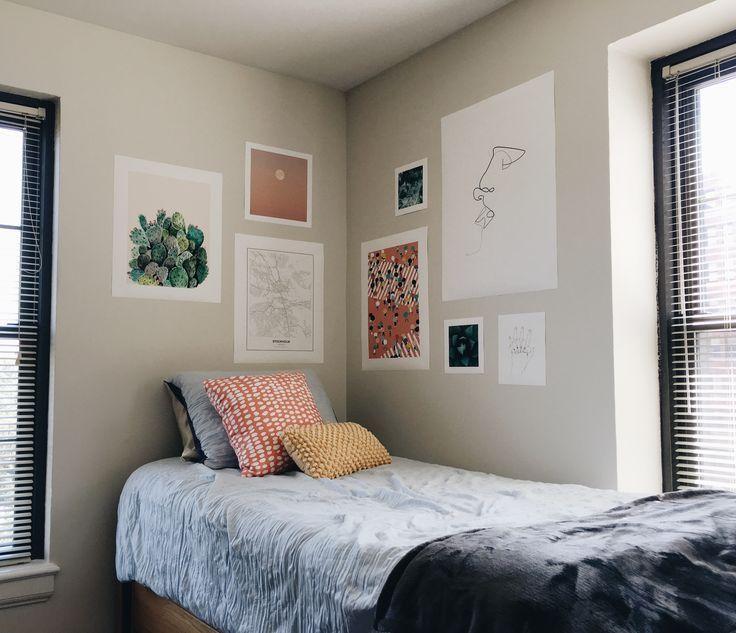 Schlafsaal an der Universität von Pittsburgh | Wohnheim Zimmer Wanddekoration | Wohnheim Zimmer Wanddekoration | Dor #collegedormrooms
