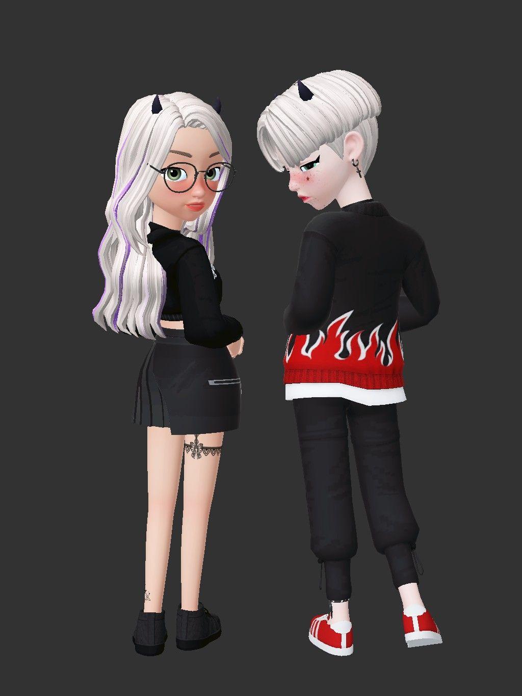 Zepeto Rechel Cute Couple Cartoon Girl Cartoon Characters Cute Love Cartoons