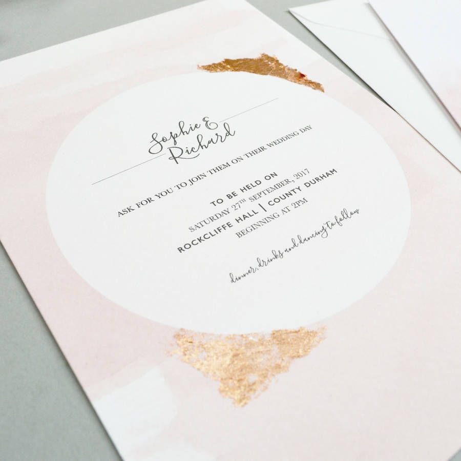 Blush Watercolour Wedding Invitation | Debut themes, Theme ideas and ...