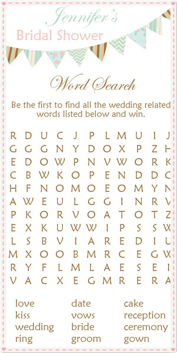 8 Creative Bridal Shower Games to Have Fun | Spielideen für ...
