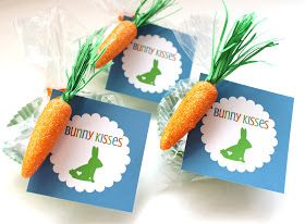 Delightfully noted easter printable tags bunny kisses treat bunny kisses free frugal cheap easter gift tags ideas present printable printables 4 mom negle Choice Image