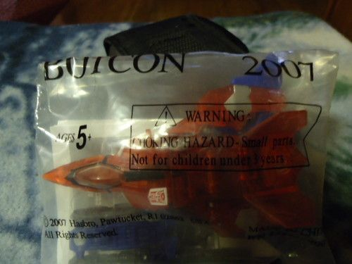 TRANSFORMERS BOTCON 2007 NEW in PACKAGE BREAKAWAY JET. Come check out these great collector TRANSFORMERS