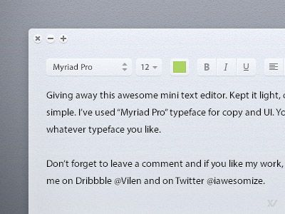 Download Light Text Editor Dribbble Freebies Pinterest Editor - copy blueprint editing app