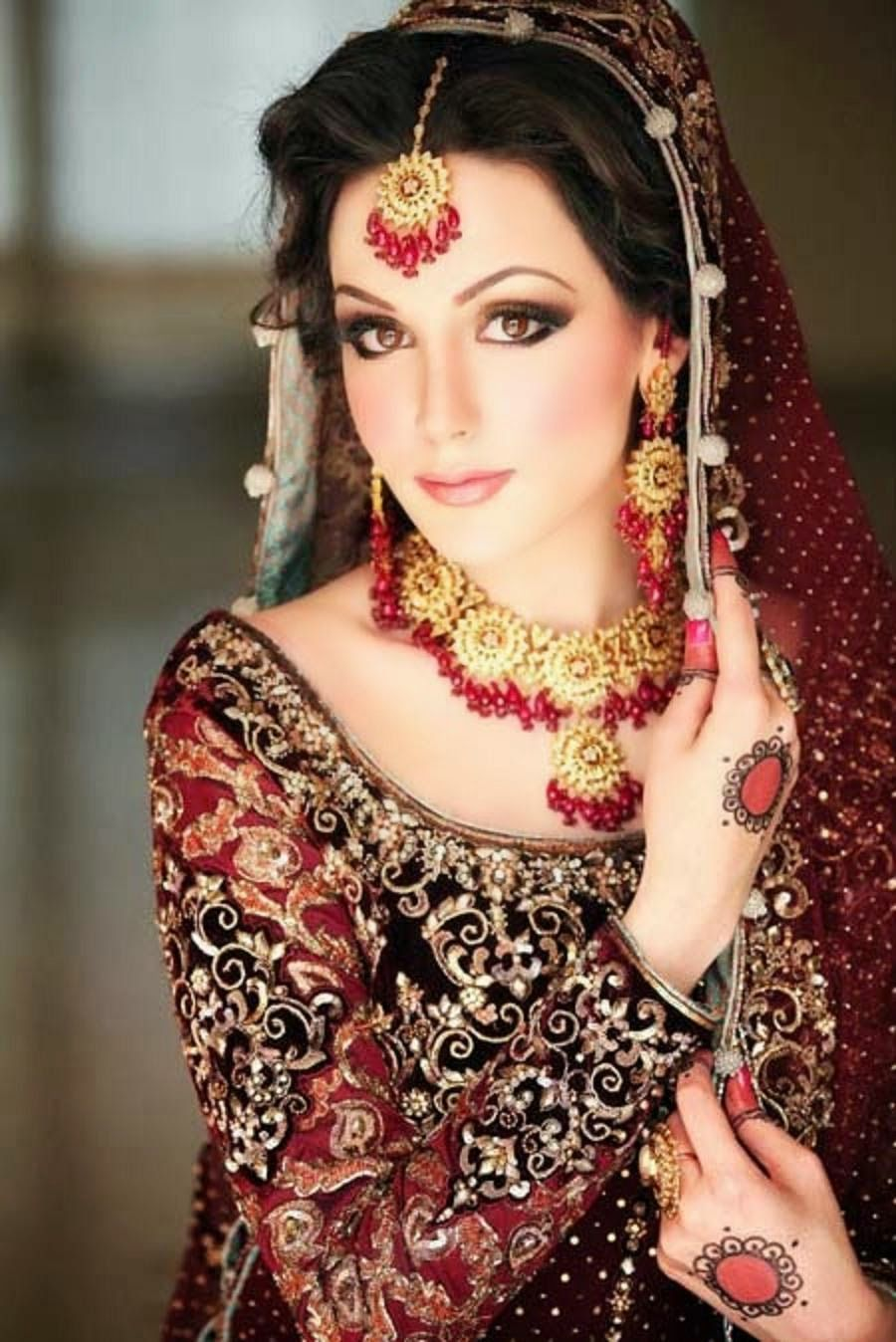 dulhan makeup ideas 2014 for girls hd wallpapers free download
