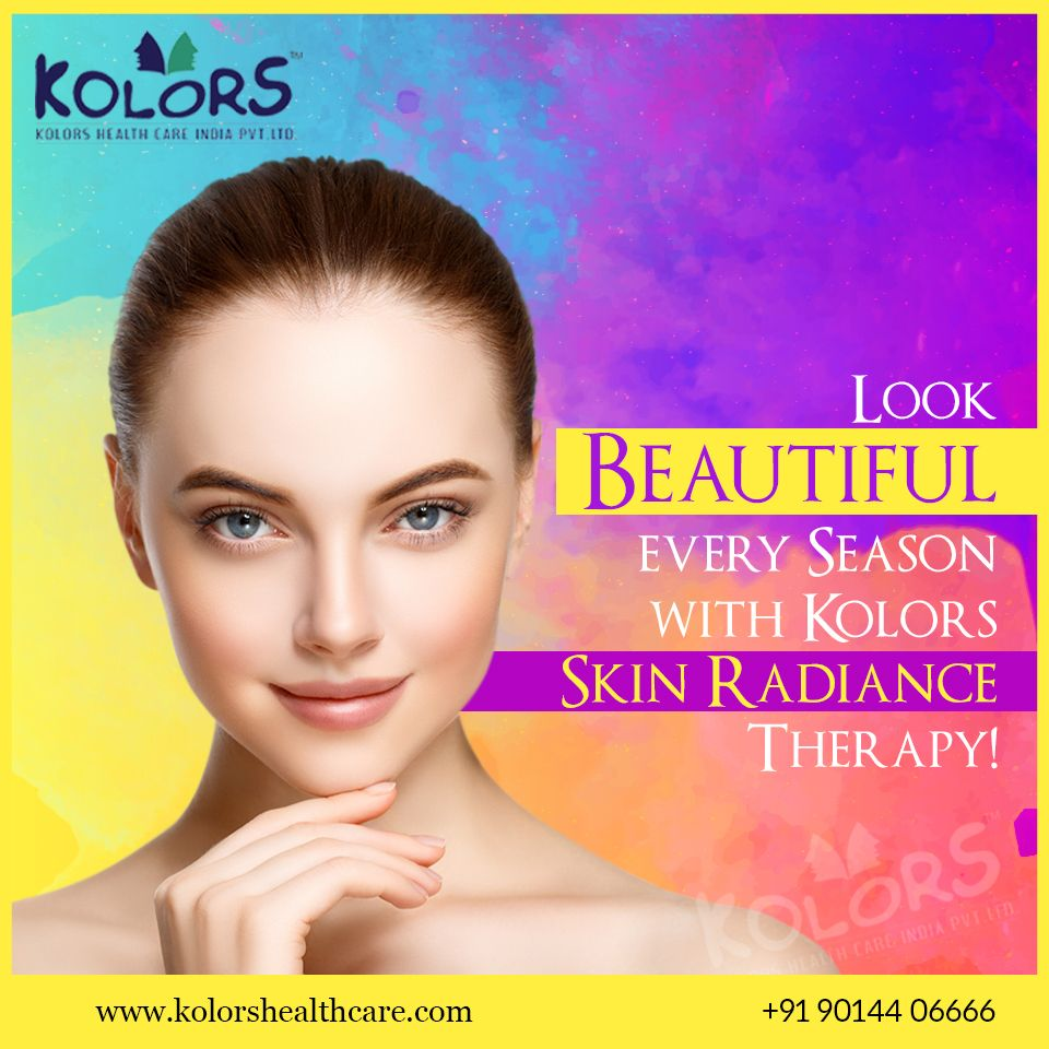 Discover The All New Skin Radiance Therapy From Kolors That Intensifies And Beautifies Your Skin Giving You Even Sk Skin Care Treatments Skin Radiance Skin