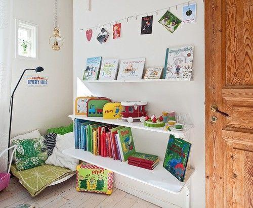 Buntes Design Ideen Für Leseecke Kinderzimmer Einrichten