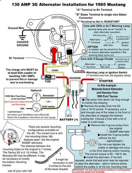 Wiring Diagram For Alternator 1985 Mustang | Wire