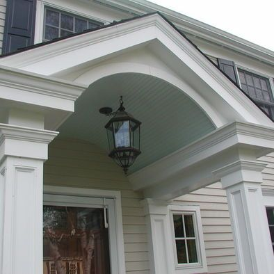 Exterior Front Door Pillar Design Pictures Remodel Decor And Ideas Portico Design Porch Design House With Porch