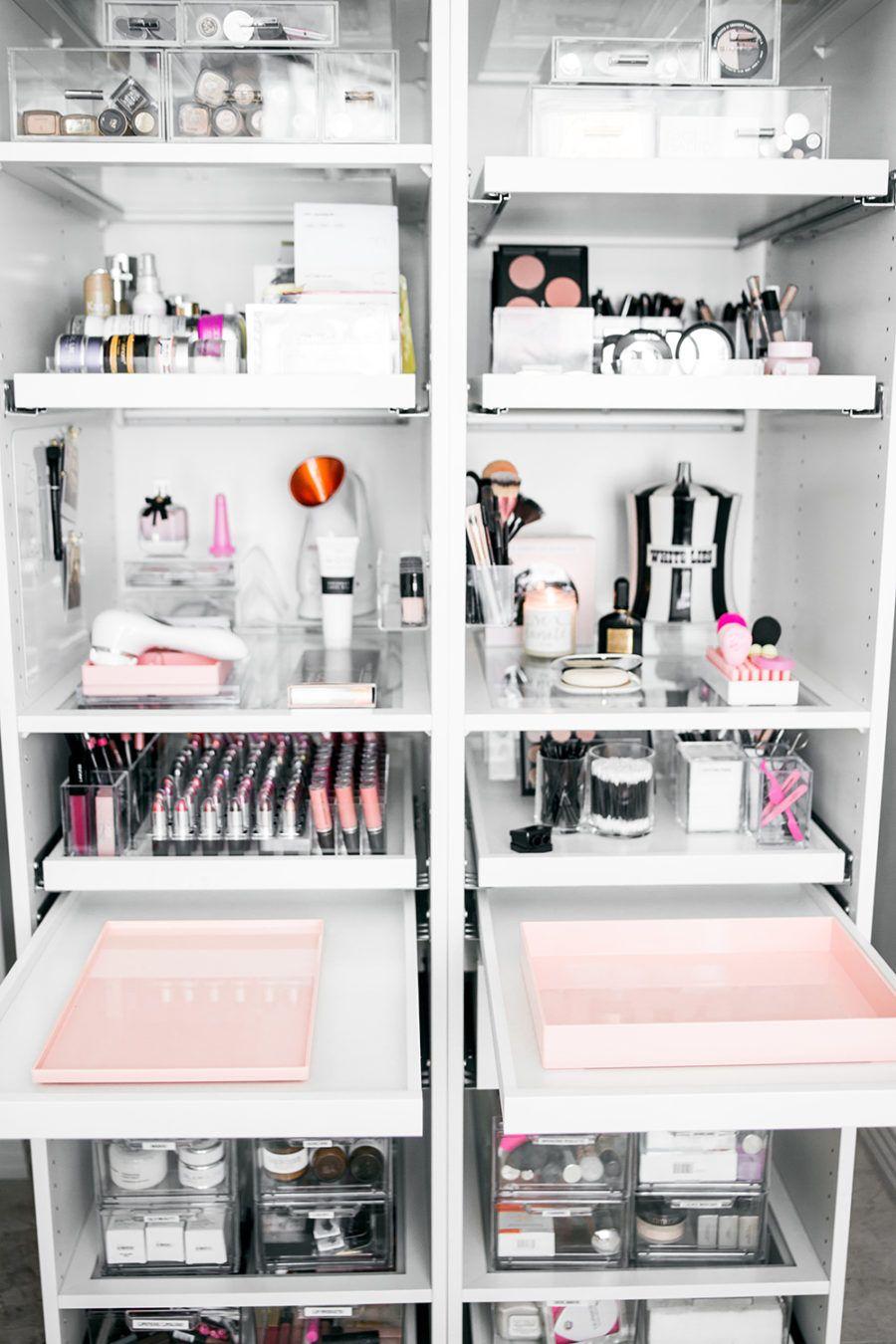 My Makeup Installment And Organization Ft Deuxaliti Makeup