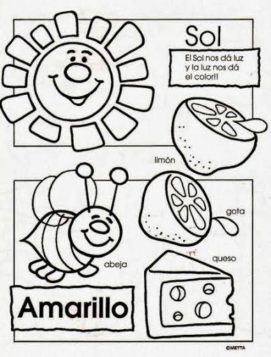 Fichas para nivel preescolar   Preescolar!!!   Pinterest   Colores ...
