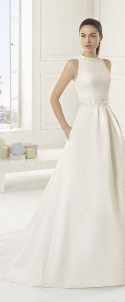 release date: d3fc1 abe35 Hochzeitskleid, Seide, Hochzeitskleid, elegant | Hochzeit ...